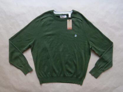 XXL . Original Penguin . tmavě zelený svetr