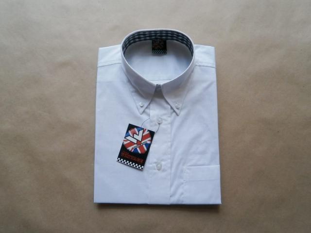M . Warrior Clothing . bílá košile
