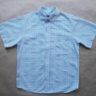 S . Fred Perry . světle modrá košile