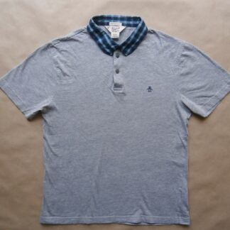M . Original Penguin . šedé polo