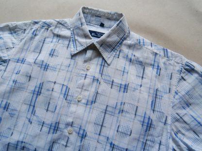 S . Ben Sherman . modro-bílá košile s terči