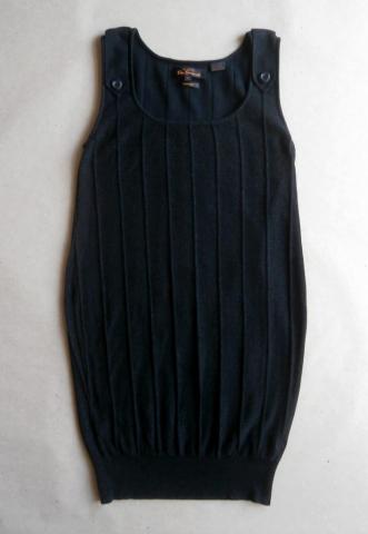M . Ben Sherman . černé šaty s jemnými stříbrnými třpytkami