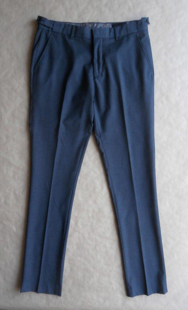 50 . Vito . šedo-černé oblekové kalhoty