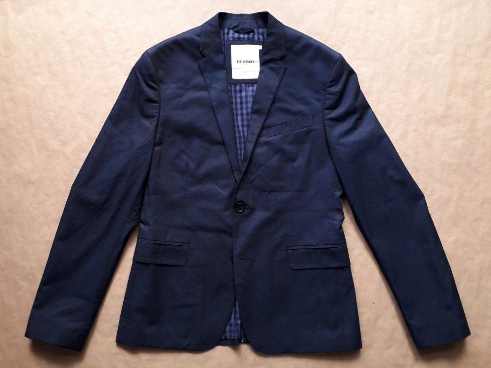 S . Ben Sherman . tmavě modré tonic sako