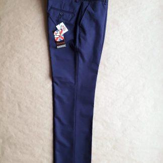 33 . Warrior Clothing . tmavě modré sta press kalhoty