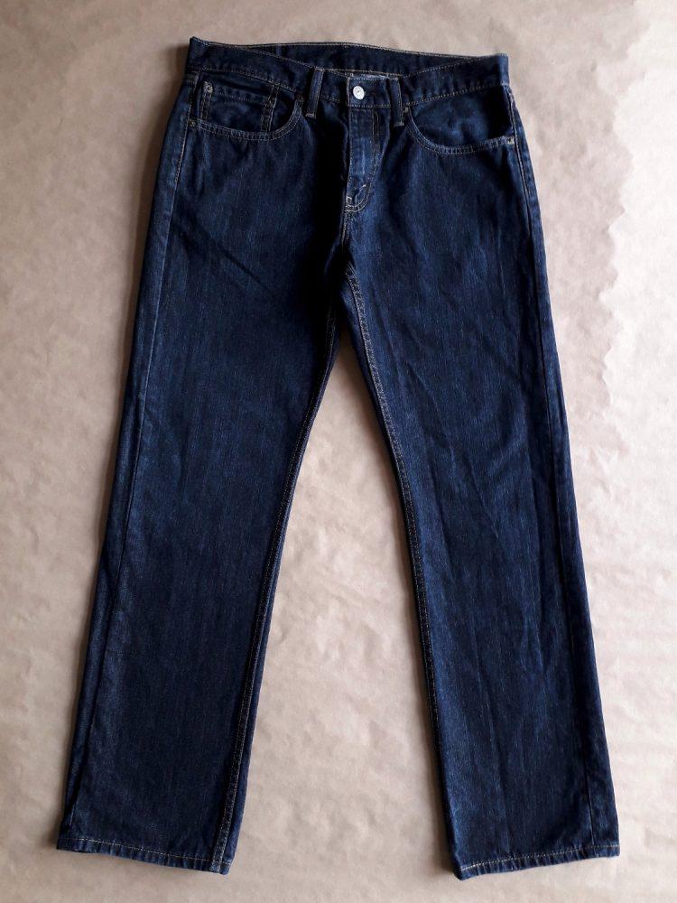 32/32 . Levi's . tmavě modré džíny 559