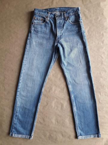 28/30 . Levi's . světle modré džíny 505
