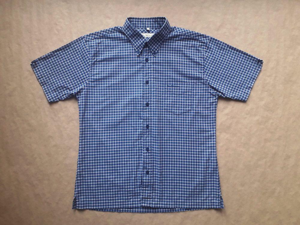 L . Ben Sherman . bílo-modrá kostkovaná košile