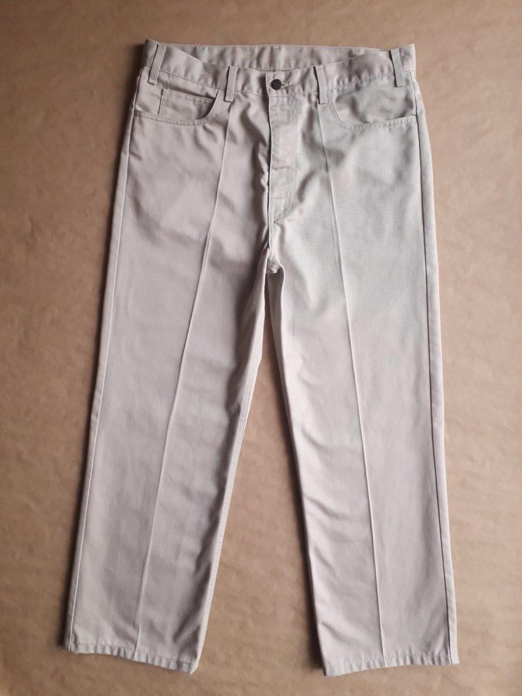 36/34. Levi's . béžové džíny sta-prest
