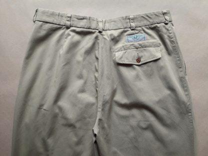36 . Fred Perry . béžové vintage kalhoty