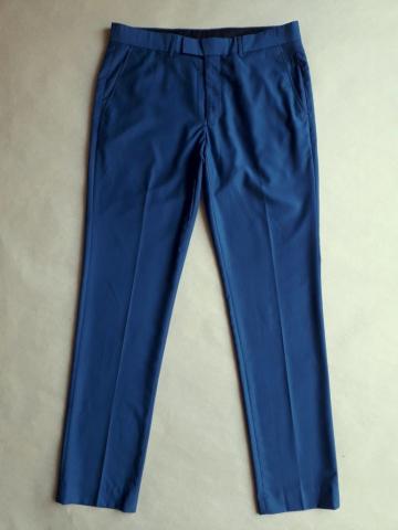 32/32 . Farah . modré oblekové kalhoty