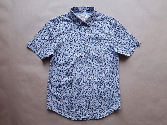 S . Original Penguin . modro-bílá košile