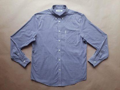 XL . Ben Sherman . modro-bílá gingham košile