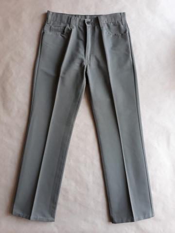 33/32 . Levi's . olivově šedé džíny sta-prest