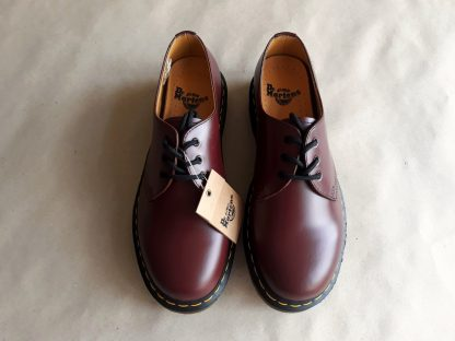 41 a 45 . Dr. Martens . vínové třídírkové boty 1461
