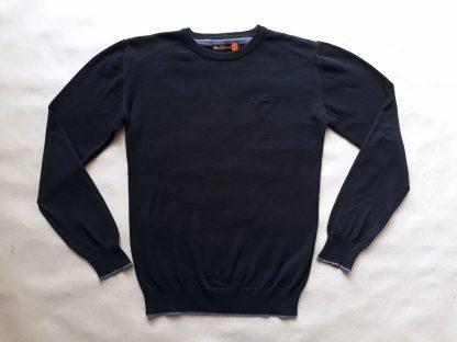M . Ben Sherman . černý svetr s šedým proužkem
