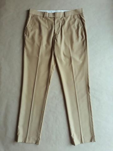 34/32 . Farah . tmavě béžové kalhoty