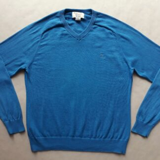 L . Original Penguin . modrý svetr