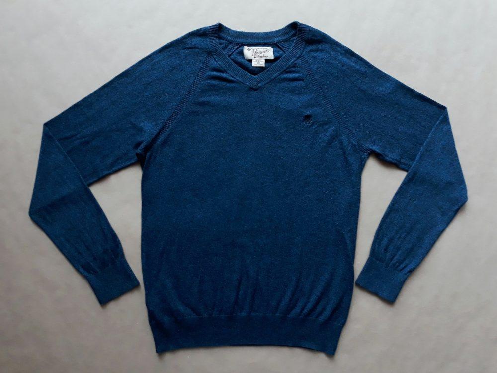 M . Original Penguin . černo-modrý svetr