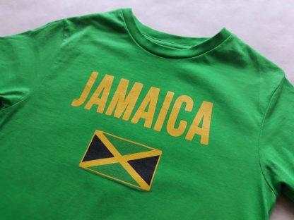 5–6 let . zelené tričko Jamaica