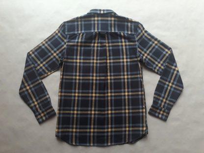 S . Lyle & Scott . žluto-černá kostkovaná flanelová košile