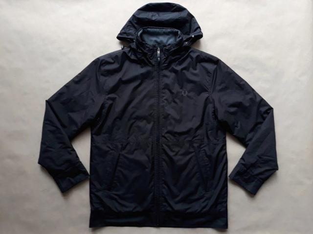 M . Fred Perry . černá podzimní bunda
