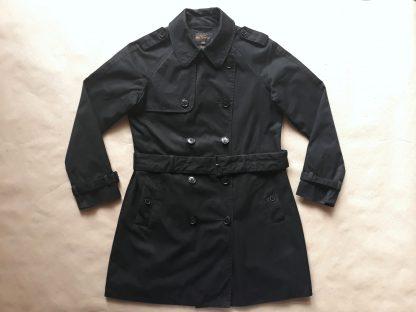 M . Ben Sherman . dámský černý trench coat