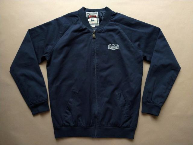 XXL . Lonsdale . tmavě modrá bunda monkey jacket