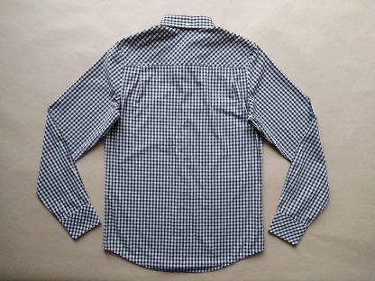 XS . Ben Sherman . černo-bílá kostkovaná gingham košile