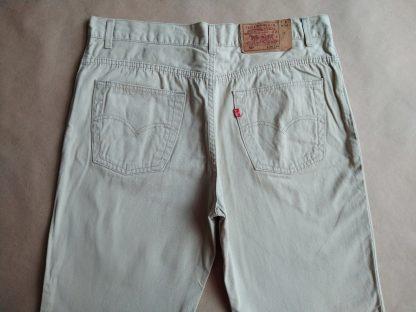 34/34 . Levi's . béžové džíny 501
