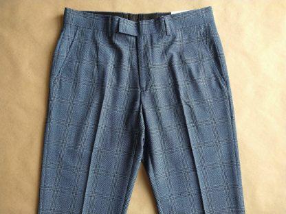 30/32 . Farah . modré kostkované kalhoty