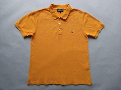 L . Lyle & Scott . oranžové polo