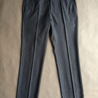 32/32 . Farah . šedo-černé kalhoty se vzorem kohoutí stopy