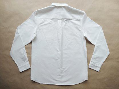 L . Lyle & Scott . bílá košile s dlouhým rukávem