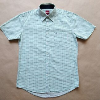 S . Merc . zeleno-modro-bílá vzorovaná košile