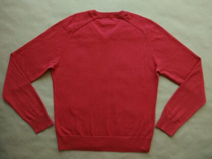 L . Original Penguin . červený svetr s kašmírem