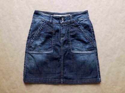 S/M . Ben Sherman . tmavě modrá džínová sukně