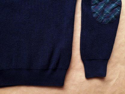 6–7 let . Lyle & Scott . tmavě modrý svetr