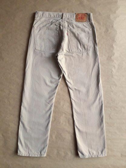 31/30 . Levi's . béžové džíny 521