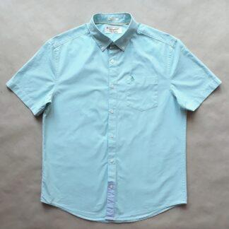 M . Original Penguin . světle tyrkysová košile