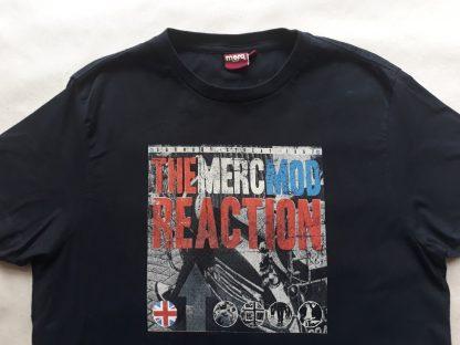 M . Merc . černé tričko The Merc Mod Reaction