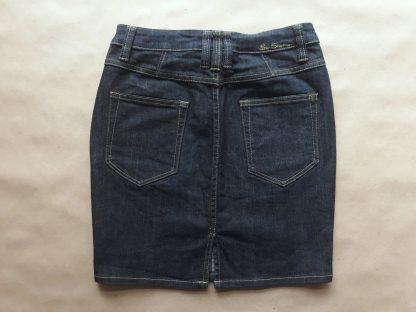 S . Ben Sherman . tmavě modrá džínová sukně