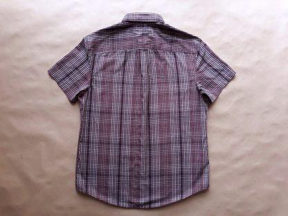 M . Original Penguin . fialová kostkovaná košile
