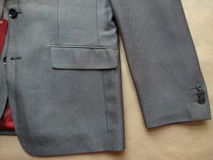 M/L . Merc . šedé tonic sako