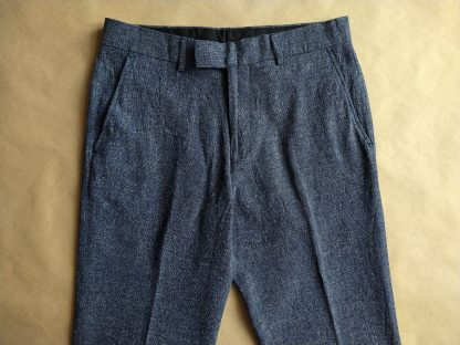 30/32 . Farah . bílo-modré kalhoty