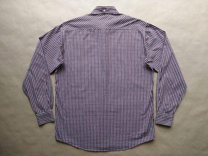 L/XL . Farah . červeno-černo-bílá kostkovaná košile