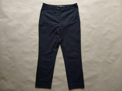 38 . Fred Perry . černé kratší kalhoty s podšívkou s kohoutí stopou