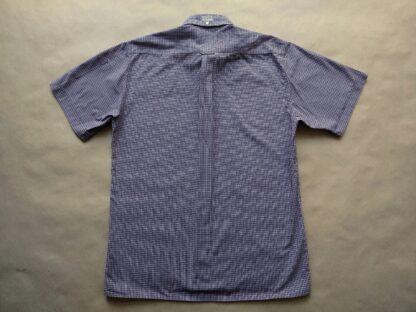 XL . Lonsdale . tmavě modro-červeno-bílá kostkovaná košile