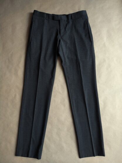 32/32 . Gibson . šedo-černé kalhoty s jemným vzorkem