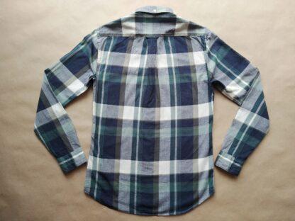 S . Farah . tmavo modro-zeleno-bílá kostkovaná košile